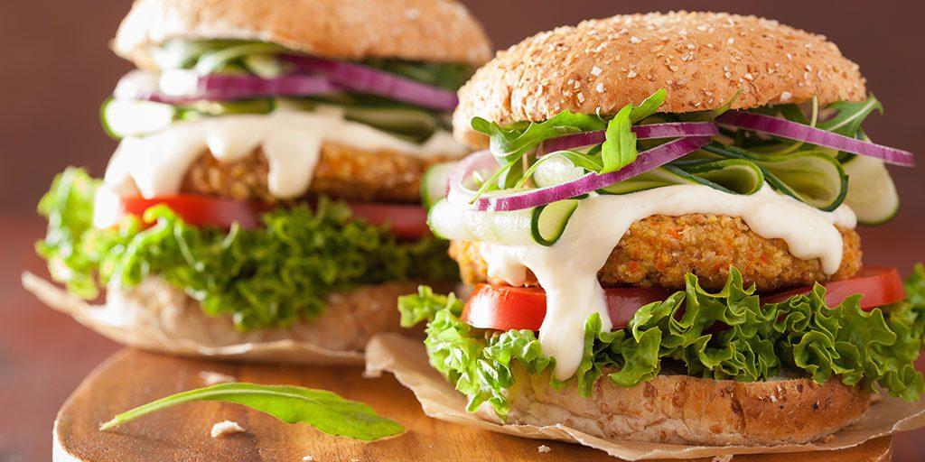 How To Make Chickpea Sunflower Seed Veggie Burgers