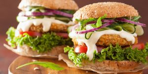 How To Make Chickpea Sunflower Seed Veggie Burgers