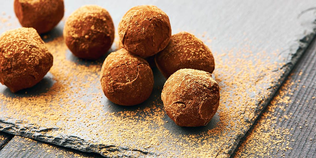 How To Make Chocolate-Covered Almond Butter Balls