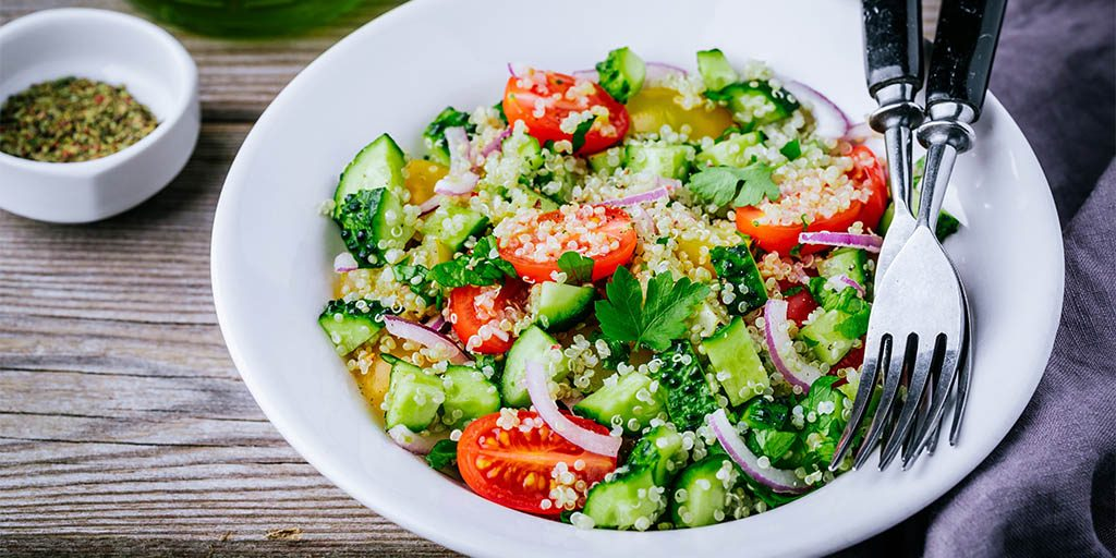 How To Make Israeli Quinoa Salad