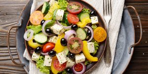 How To Make Mediterranean Chopped Salad
